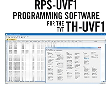 RPS-UVF1 Programming Software Only for the TYT TH-UVF1