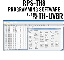 RPS-TH8 Programming Software Only for the TYT TH-UV8R, TH-F8, TH-UVF8, and TH-UVF8D