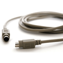 RT-44  6-pin mini din extension M/F Cable (6-ft)