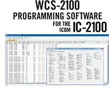 WCS-2100 Programming Software Only for the Icom IC-2100
