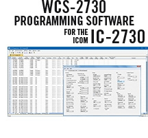 for the IC-2730 RT Systems Original WCS-2730 USB Software USB-29A and USB Programming Cable Version 5.0