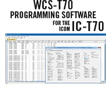 WCS-T70 Programming Software Only for the Icom IC-T70
