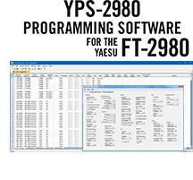 YPS-2980 Programming Software Only for the Yaesu FT-2980