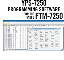 YPS-7250 Programming Software Only for the Yaesu FTM-7250