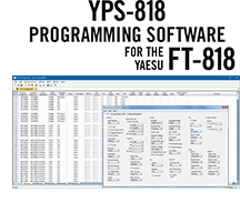 YPS-818 Programming Software Only for the Yaesu FT-818