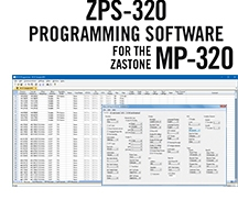 ZPS-320 Programming Software Only for the Zastone MP-320