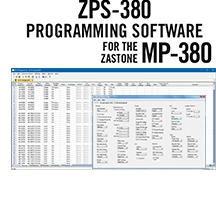 ZPS-380 Programming Software Only for the Zastone MP-380