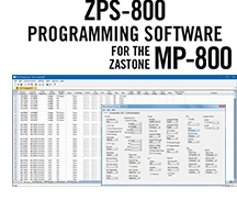 ZPS-800 Programming Software Only for the Zastone MP-800