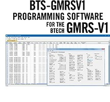 BTS-GMRSV1 Programming Software for the Btech GMRS-V1