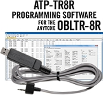 ATP-TR8R Programming Software and USB-K4Y cable for the AnyTone OBLTR-8R