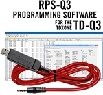 RPS-Q3 Programming Software and USB-57A cable for the TDXOne TD-Q3