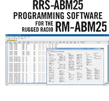 RRS-ABM25 Programming Software Only for the Rugged Radio ABM25