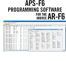 APS-ARF6 Programming Software Only for the ABBREE AR-F6