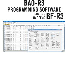 BAO-R3 Programming Software  for the Baofeng BF-R3