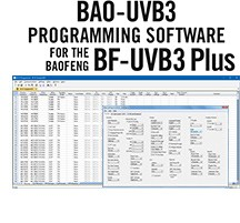 BAO-UVB3 Programming Software Only for the Baofeng BF-UVB3Plus