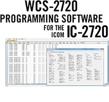 WCS-2720 Programming Software Only for the Icom IC-2720