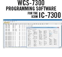 WCS-7300 Programming Software Only for the Icom IC-7300