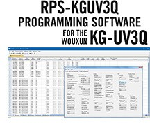 RPS-KGUV3Q Programming Software Only for the Wouxun KG-UV3Q