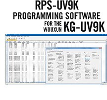 RPS-KGUV9K Programming Software Only for the <br>Wouxun KG-UV9K