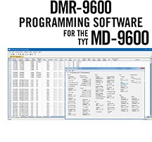 DMR-9600 Programming Software Only for the TYT MD-9600