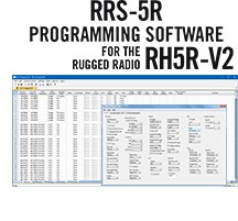 RRS-5R Programming Software Only for the Rugged Radios RH5R-V2