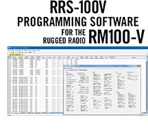 RRS-100V Programming Software Only for the Rugged Radios RM100-V