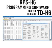 RPS-H6 Programming Software Only for the TIDRadio TD-H6 radio