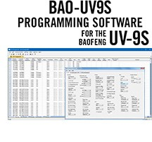BAO-9S Programming Software Only for the Baofeng UV-9S