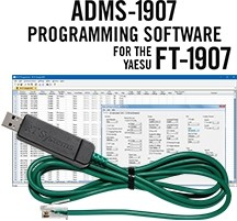 ADMS-1907 Programming Software and USB-29F cable for the Yaesu FT-1907