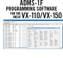 ADMS-1F Programming Software Only for the Yaesu VX-110/150