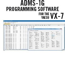 ADMS-1G Programming Software Only for the Yaesu VX-7