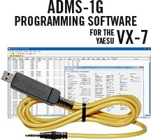 ADMS-1G Programming Software and USB -57B cable for the Yaesu VX-7