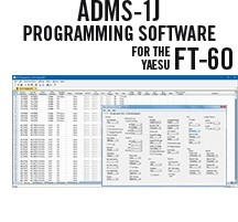 ADMS-1J Programming Software only for the Yaesu FT-60