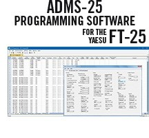 ADMS-25 Programming Software Only for the Yaesu FT-25