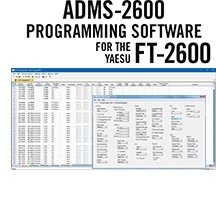 ADMS-2600 Programming Software Only for the Yaesu FT-2600