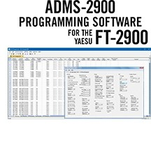 ADMS-2900 Programming Software Only for the Yaesu FT-2900