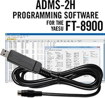 ADMS-2H Programming Software and USB-29B cable for the Yaesu FT-8900