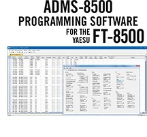 ADMS-8500 Programming Software Only for the Yaesu FT-8500