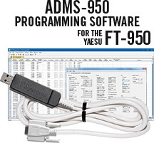 ADMS-950 Programming Software and USB-63 for the Yaesu FT-950