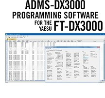 ADMS-DX3000 Programming Software Only for the Yaesu FT-DX3000