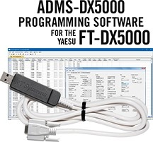 ADMS-DX5000 Programming Software and USB-63 for the Yaesu FT-DX5000