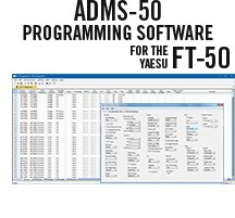 ADMS-FT50 Programming Software Only for the Yaesu FT-50