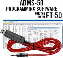 ADMS-FT50 Programming Software and USB-57A cable for FT-50