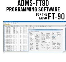 ADMS-FT90 Programming Software Only for the Yaesu FT-90