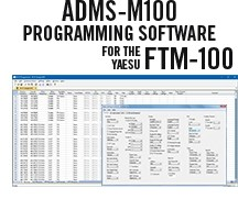 ADMS-M100 Programming Software Only for the Yaesu FTM-100
