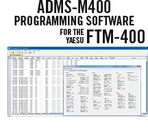 ADMS-M400 Programming Software Only for the<br> Yaesu FTM-400D/XDR