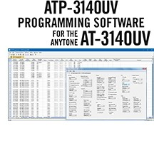 ATP-3140UV Programming Software Only for the AnyTone AT-3140UV
