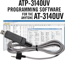 ATP-3140UV Programming Software and USB-K4Y cable for the AnyTone AT-3140UV