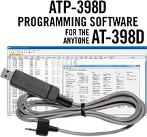 ATP-398D Programming Software and USB-K4Y cable for the AnyTone AT-398UVD