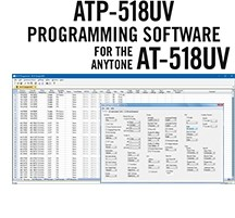 ATP-518UV Programming Software Only for the AnyTone AT-518UV